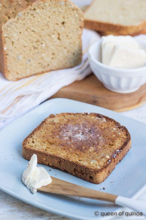 Gluten Free Quinoa Bread  High Protein Quinoa Bread Recipe