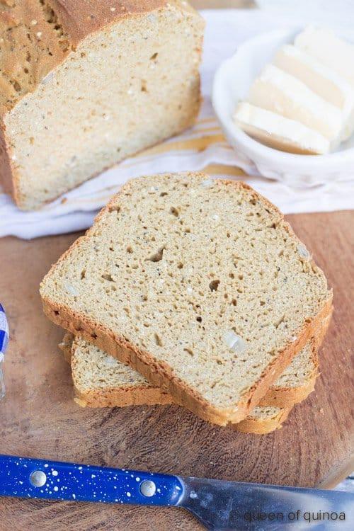 Gluten Free Quinoa Bread  Gluten Free Quinoa Bread Recipe Simply Quinoa