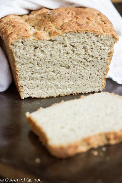 Gluten Free Quinoa Bread  76 best images about QUINOA BREAD RECIPES on Pinterest