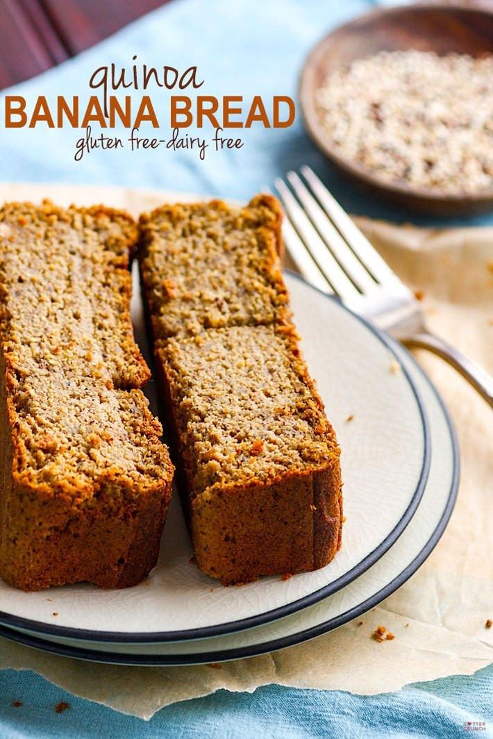 Gluten Free Quinoa Bread  Healthy Gluten Free Banana Bread