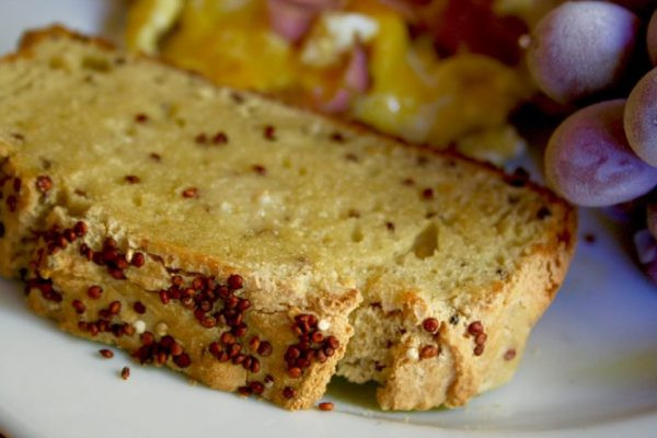 Gluten Free Quinoa Bread  Quick Gluten Free Quinoa Bread