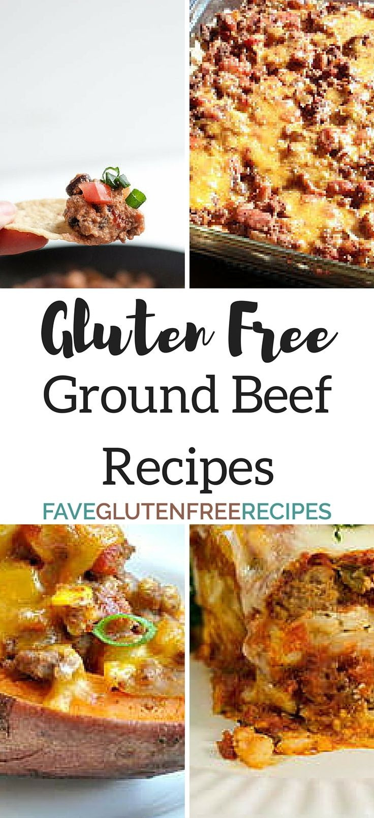 Gluten Free Recipes With Ground Beef  1000 images about GLUTIN FREE FOODS on Pinterest