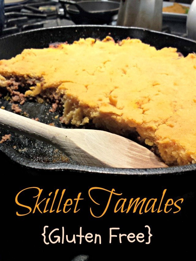 Gluten Free Recipes With Ground Beef  Ground Beef Skillet Tamales Recipe Honest And Truly