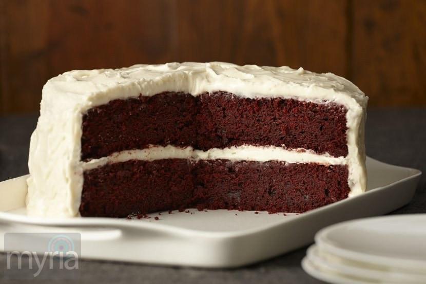 Gluten Free Red Velvet Cake  Gluten free red velvet cake Myria