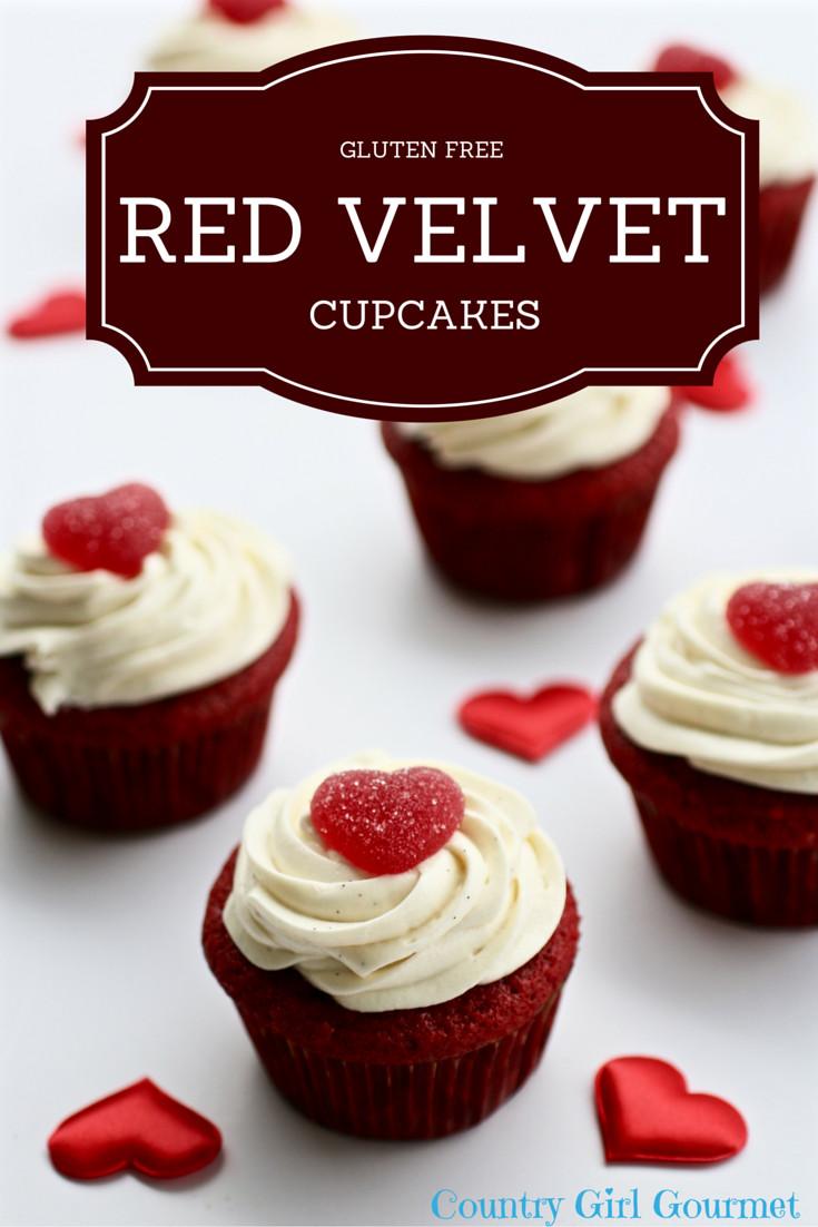 Gluten Free Red Velvet Cake  Gluten Free Red Velvet Cupcakes My Hot Southern Mess