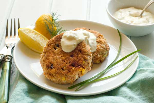 Gluten Free Salmon Recipes  Gluten Free Salmon Cakes with Two Quick Sauces Recipe