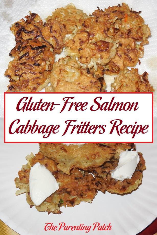 Gluten Free Salmon Recipes  Gluten Free Salmon Cabbage Fritters Recipe