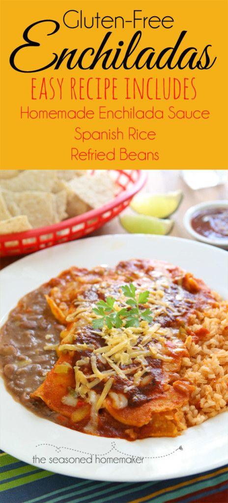 Gluten Free Sauce Recipes  Real Enchilada Sauce Recipe
