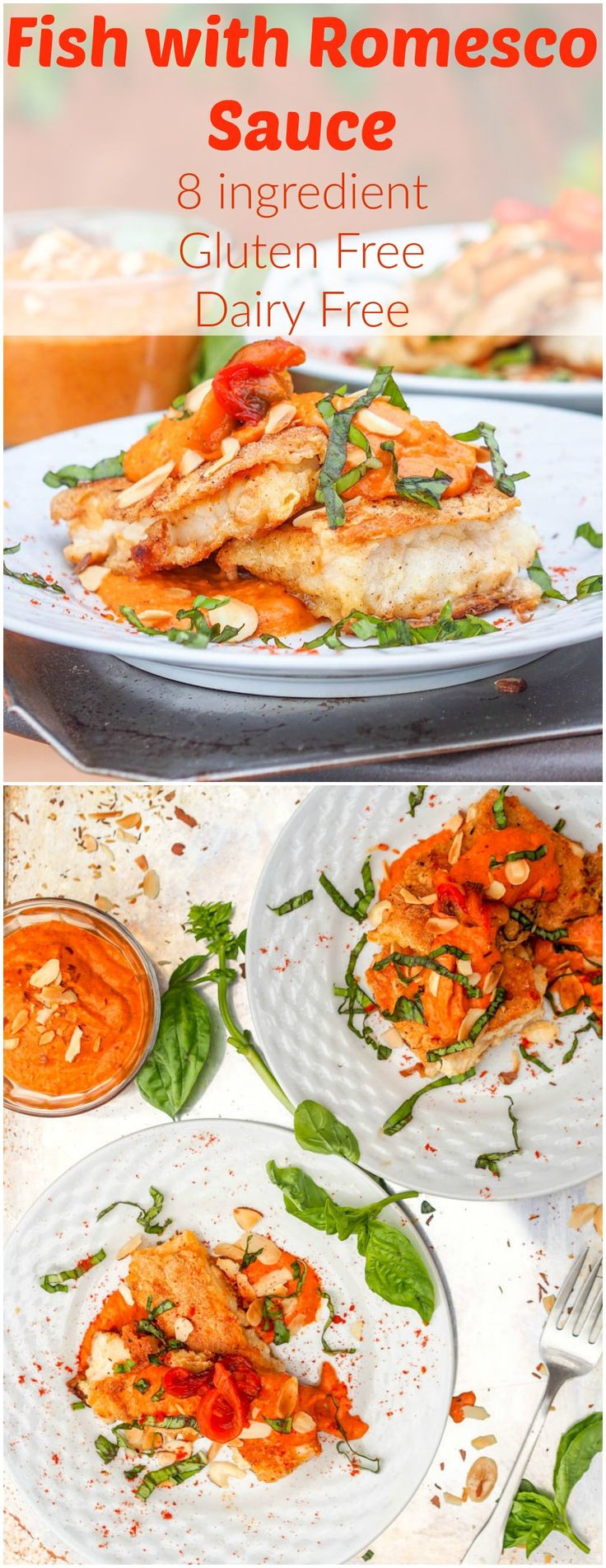 Gluten Free Sauce Recipes  Red Snapper Fish with Romesco Sauce GF DF