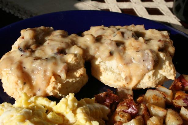 Gluten Free Sausage Gravy  Traditional Biscuits N Gravy W Sausage Gluten Free