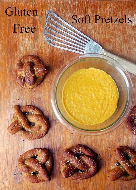 Gluten Free Soft Pretzels Recipe  gluten free soft pretzels
