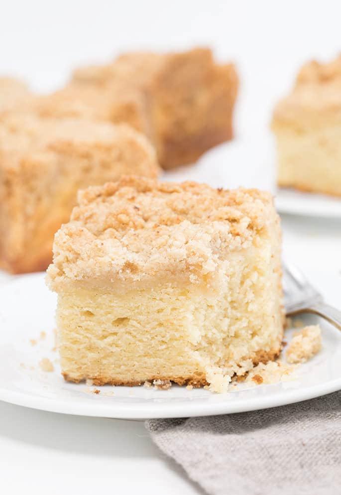 Gluten Free Sour Cream Coffee Cake  Gluten Free Coffee Cake made extra tender with sour cream