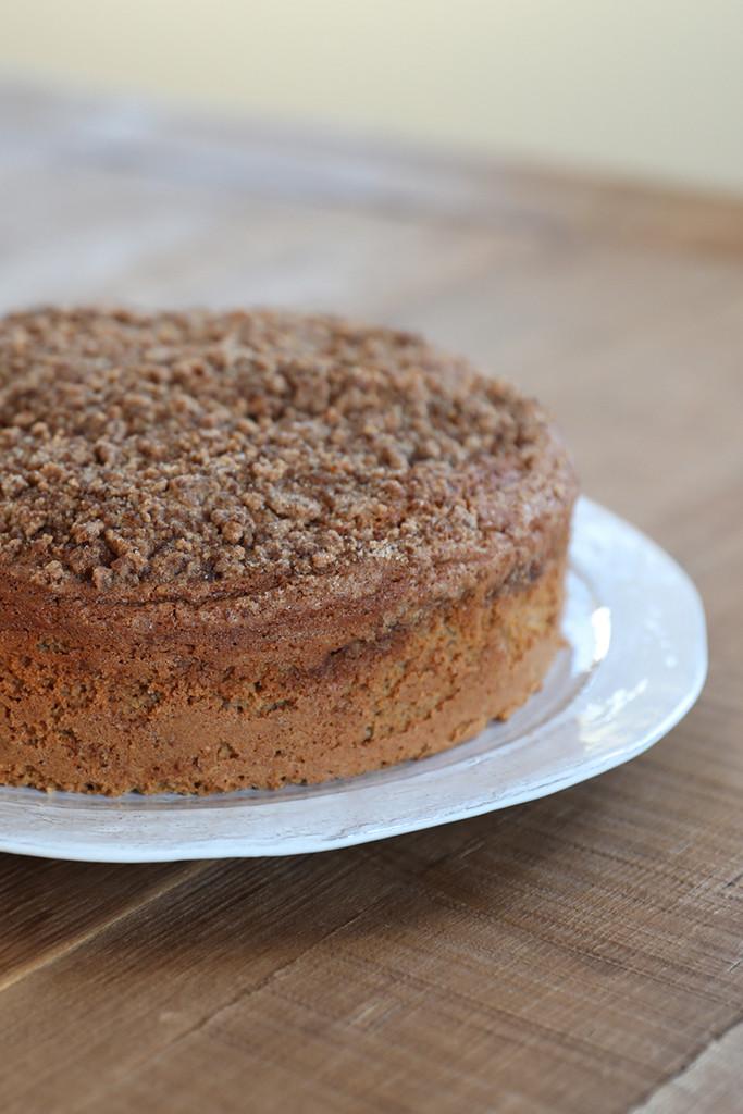 Gluten Free Sour Cream Coffee Cake  Gluten Free Sour Cream Coffee Cake Recipe