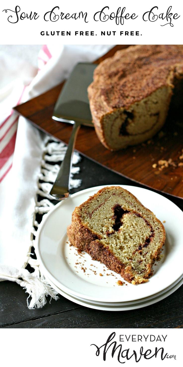 Gluten Free Sour Cream Coffee Cake  Gluten Free Sour Cream Coffee Cake