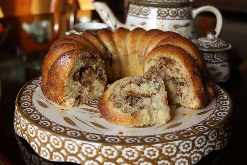 Gluten Free Sour Cream Coffee Cake  Gluten free Sour Cream Coffee Cake Recipe by Caryn