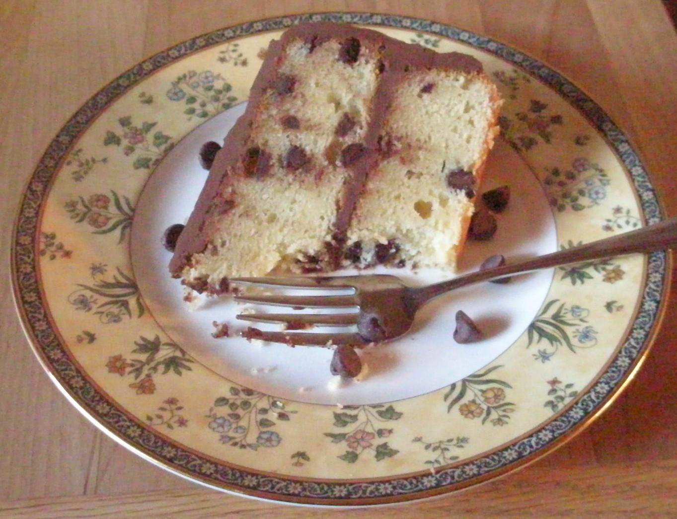 Gluten Free Sour Cream Pound Cake  Chocolate Chip Pound Cake with Chocolate Sour Cream