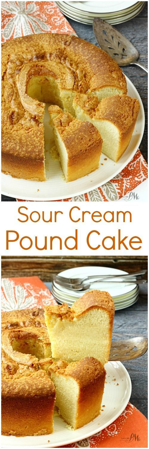 Gluten Free Sour Cream Pound Cake  1899 best images about Cakes Doughnuts Frosting on