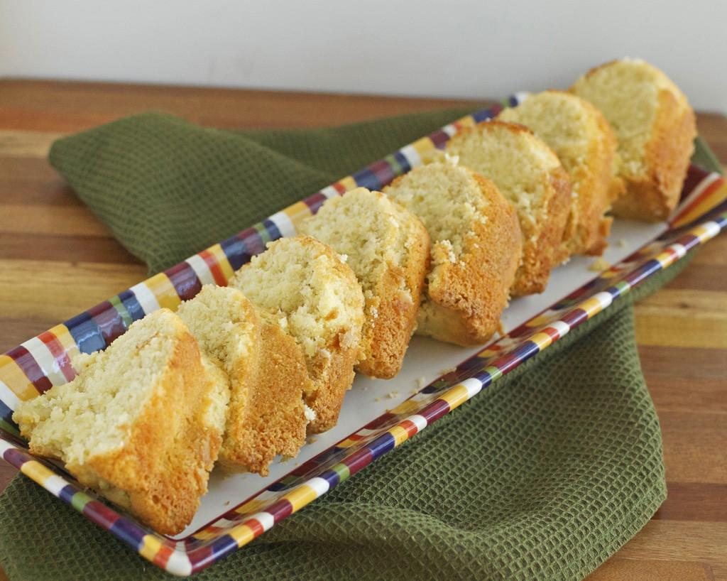 Gluten Free Sour Cream Pound Cake  Gluten Free Sour Cream Pound Cake