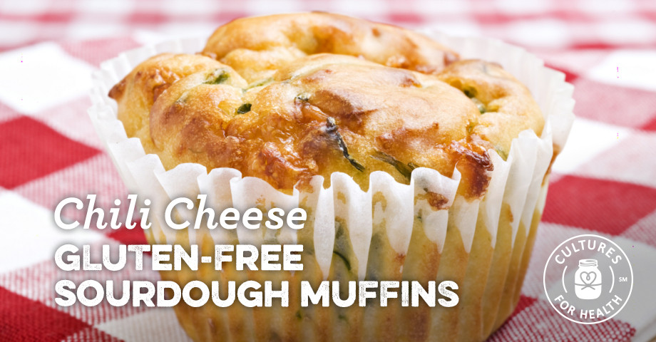 Gluten Free Sourdough Bread For Sale  Gluten free Sourdough Chili Cheese Muffins Recipe