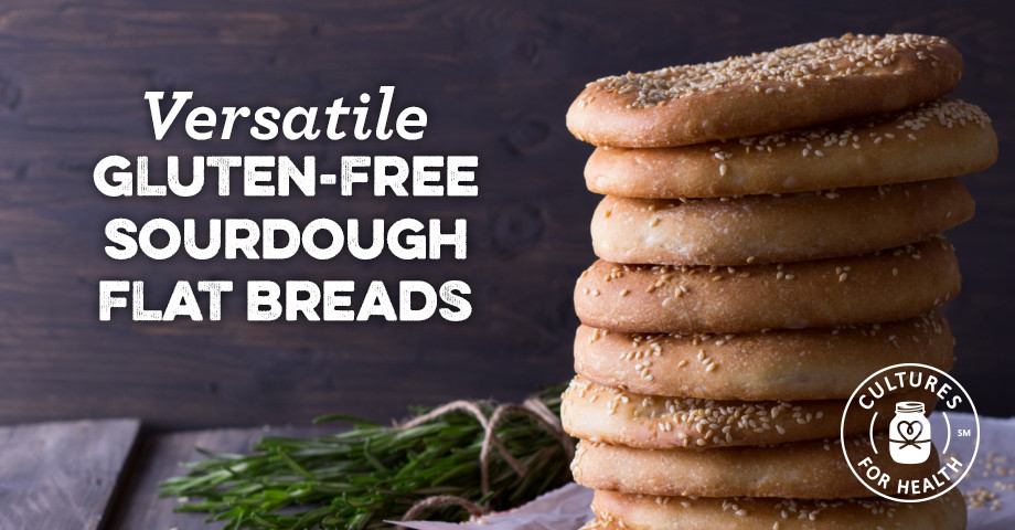 Gluten Free Sourdough Bread For Sale  Versatile Gluten Free Sourdough Flat Breads with a Formed