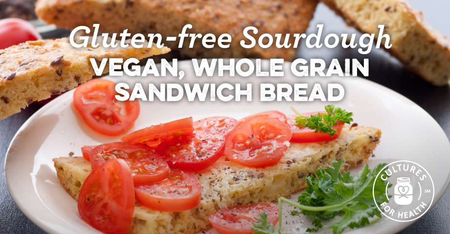 Gluten Free Sourdough Bread For Sale  Gluten free Sourdough Vegan Whole Grain Sandwich Bread