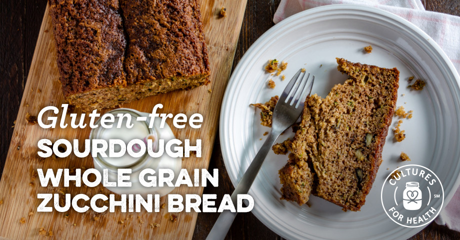 Gluten Free Sourdough Bread For Sale  Gluten free Sourdough Whole Grain Zucchini Bread Recipe