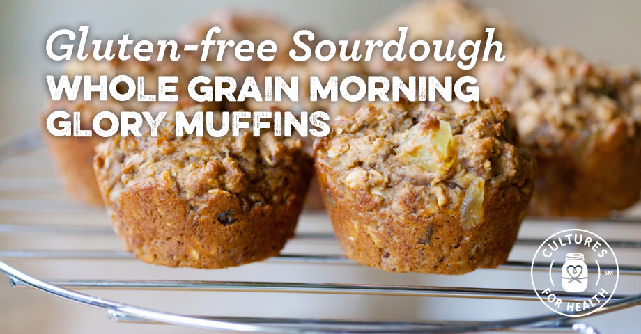 Gluten Free Sourdough Bread For Sale  Gluten free Sourdough Whole Grain Morning Glory Muffins