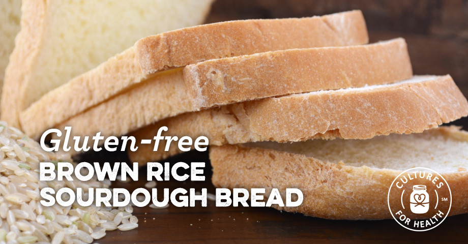 Gluten Free Sourdough Bread For Sale  Gluten Free Brown Rice Sourdough Bread Recipe Cultures
