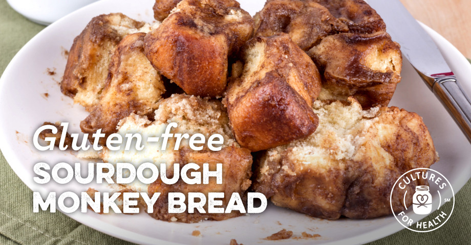 Gluten Free Sourdough Bread For Sale  Gluten free Sourdough Monkey Bread Recipe Cultures for