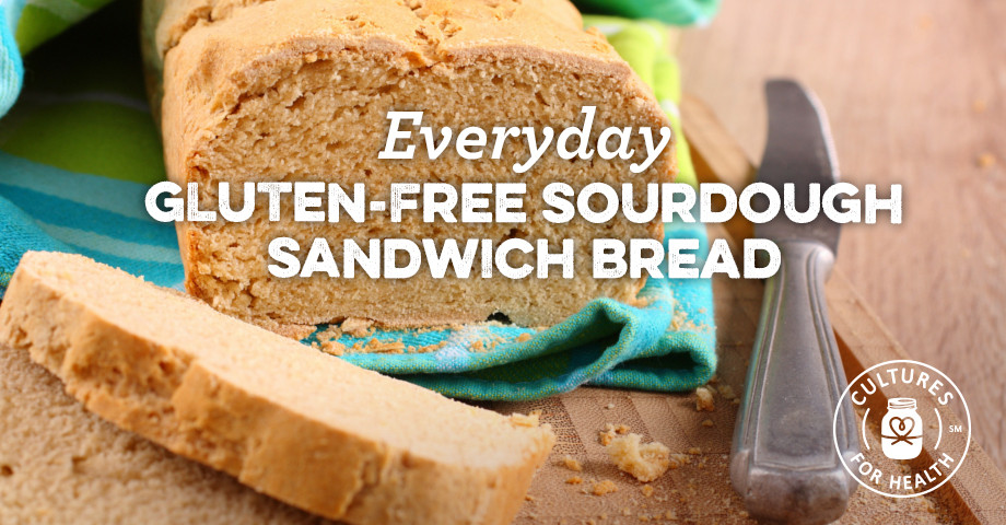 Gluten Free Sourdough Bread For Sale  Everyday Gluten free Sourdough Sandwich Bread Recipe