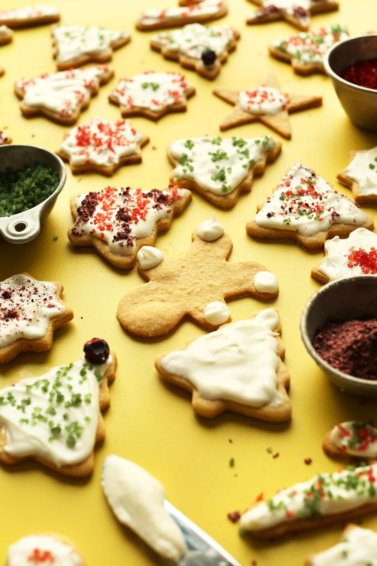 Gluten Free Sugar Cookie Recipes  Gluten Free Sugar Cookies