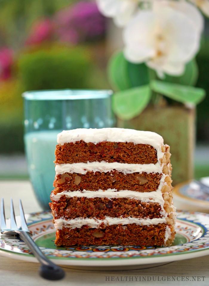 Gluten Free Sugar Free Carrot Cake  Happy Easter Healthier Carrot Cake Recipe Update Sugar