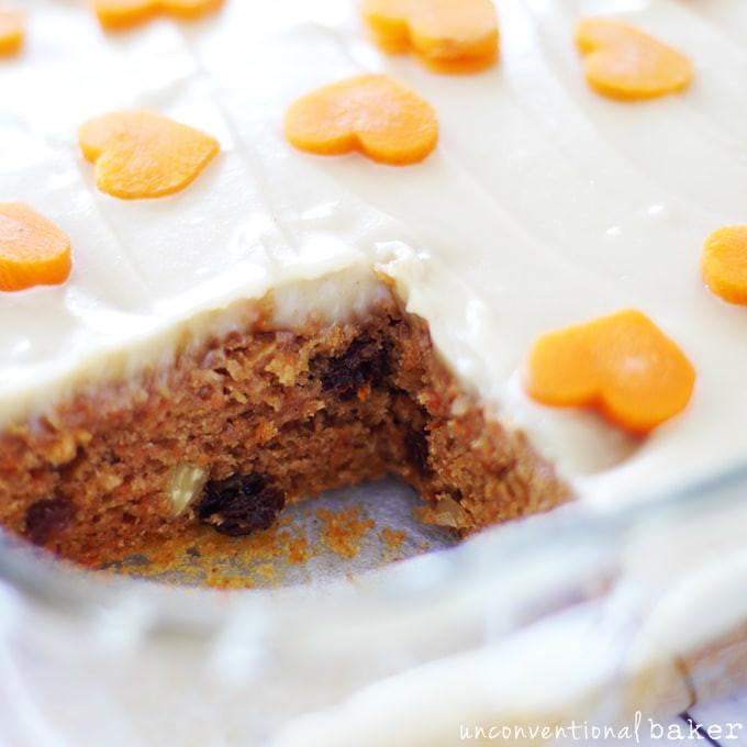 "Gluten Free Sugar Free Carrot Cake  ""Healthified"" Carrot Cake Gluten Free Vegan Refined"
