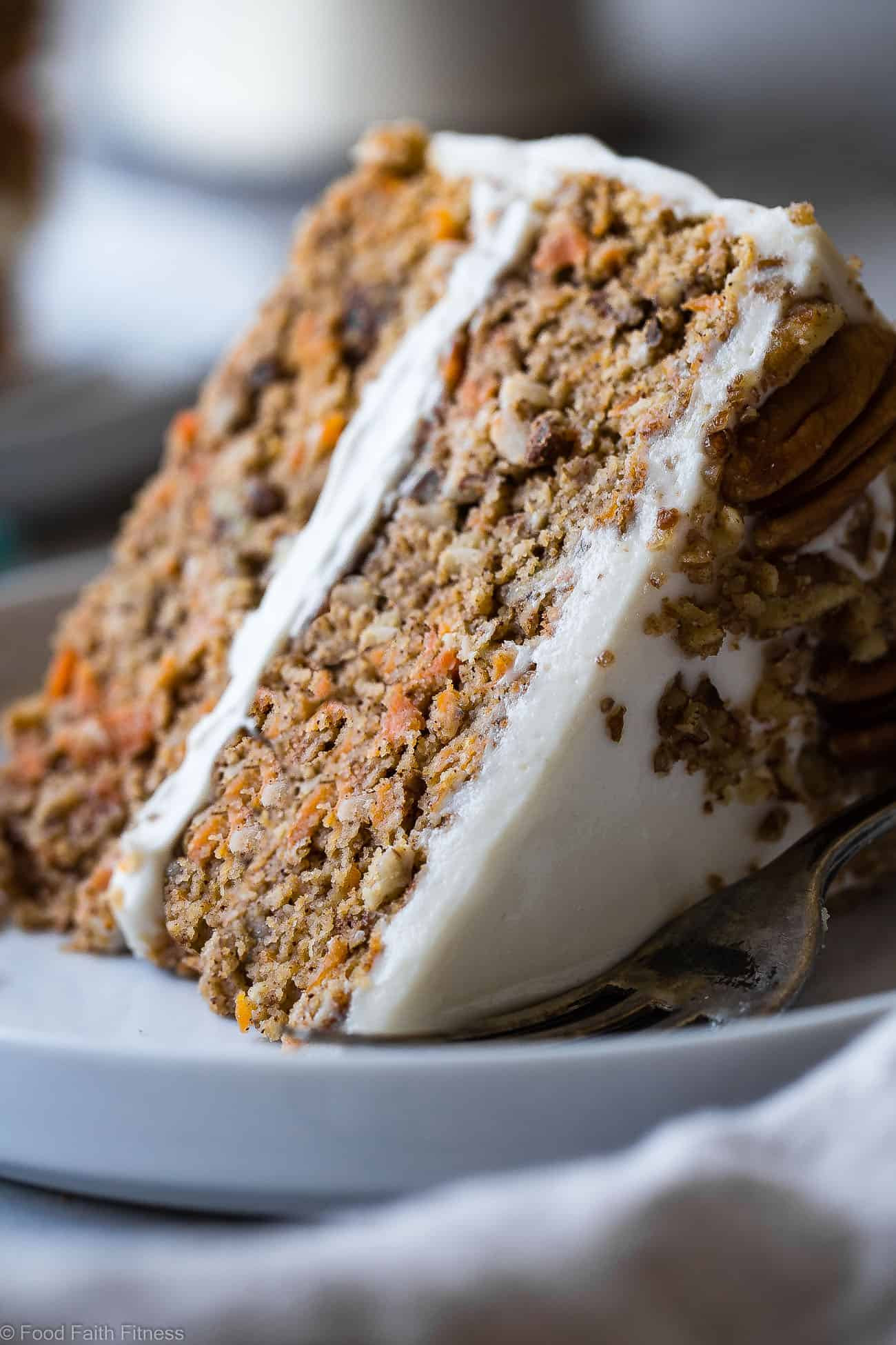 Gluten Free Sugar Free Carrot Cake  Healthy Gluten Free Sugar Free Carrot Cake
