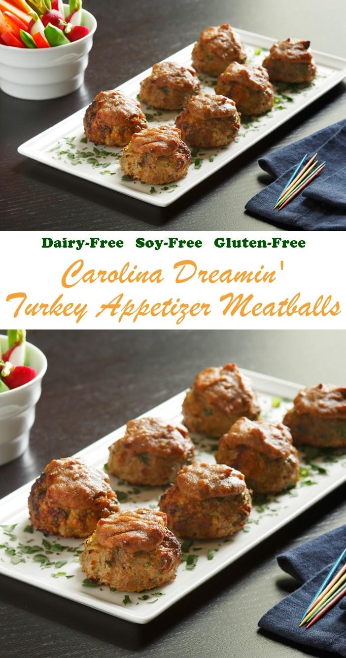 Gluten Free Thanksgiving Appetizers  gluten free turkey meatballs