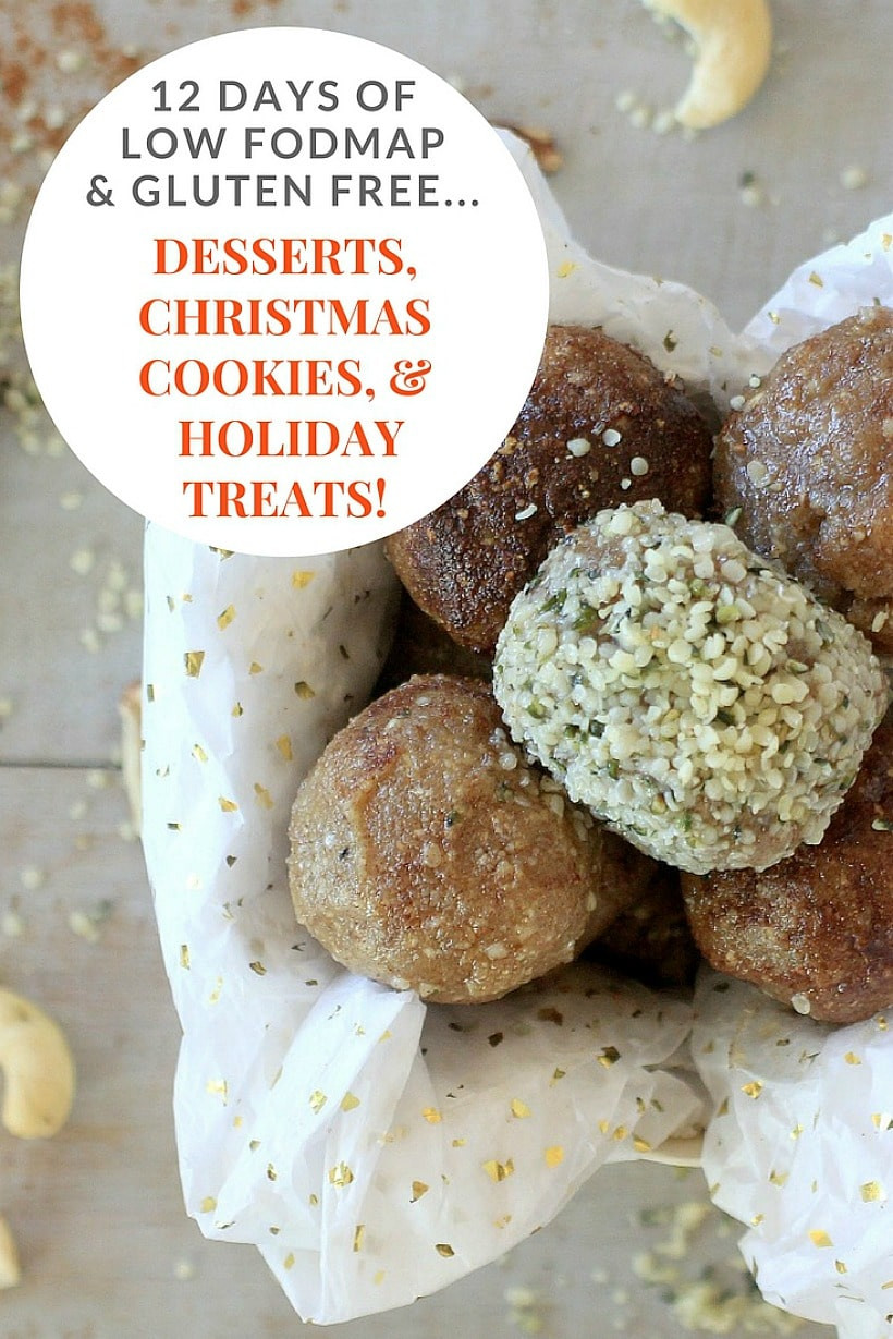 Gluten Free Treats Recipes  12 Days of Low FODMAP Desserts & Holiday Treats EA Stewart