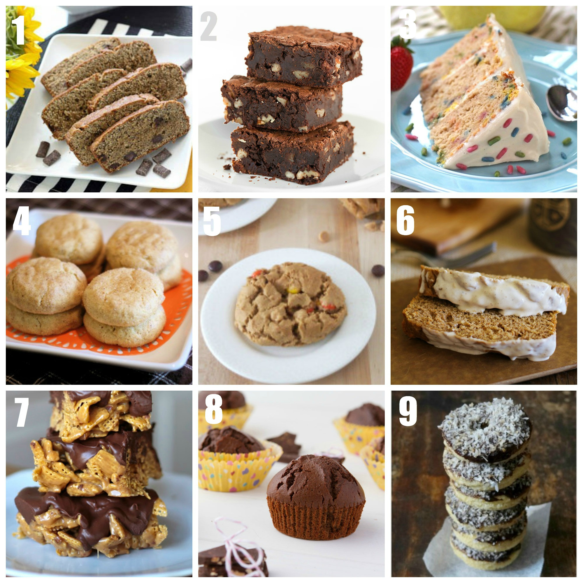 Gluten Free Treats Recipes  Easy Gluten Free Dessert Recipes