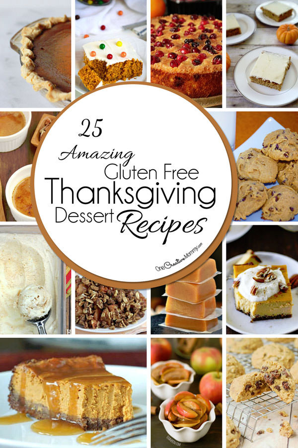 Gluten Free Treats Recipes  25 Gluten Free Thanksgiving Desserts onecreativemommy