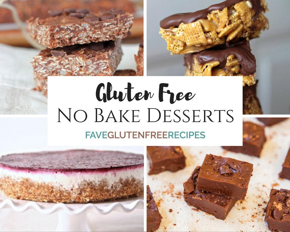 Gluten Free Treats Recipes  Gluten Free Desserts Best No Bake Recipes