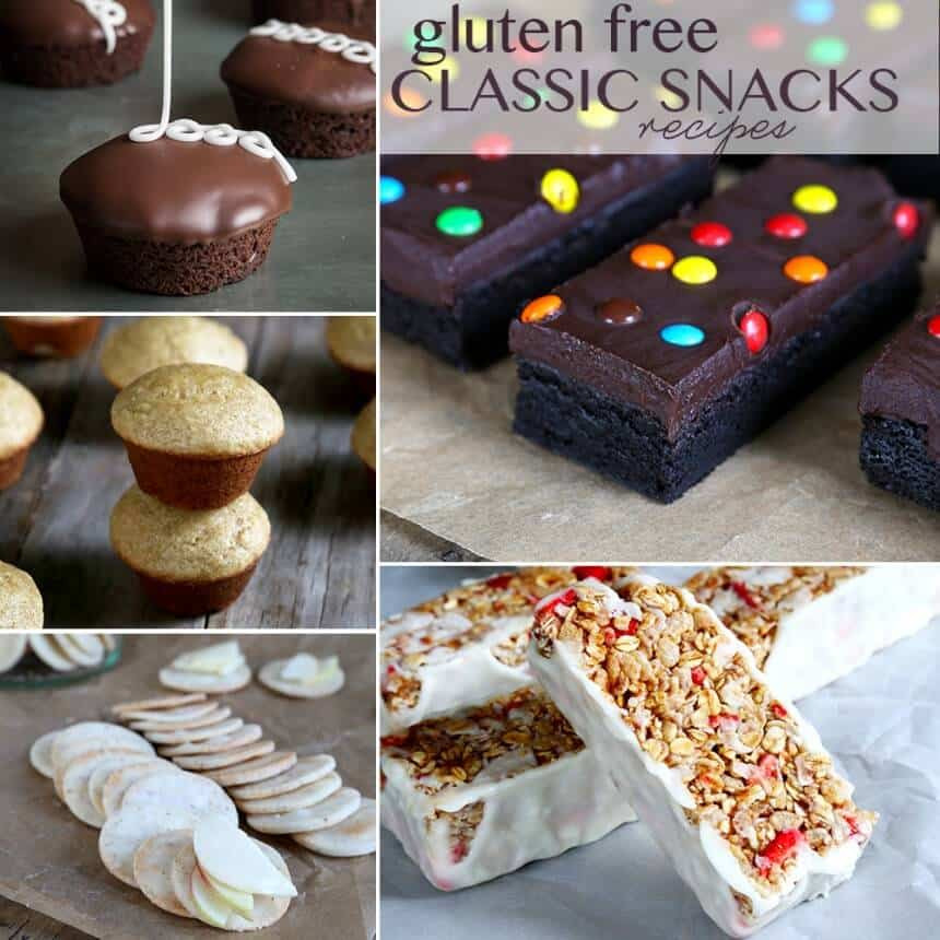 Gluten Free Treats Recipes  Gluten Free Classic Snacks Recipes ⋆ Great gluten free