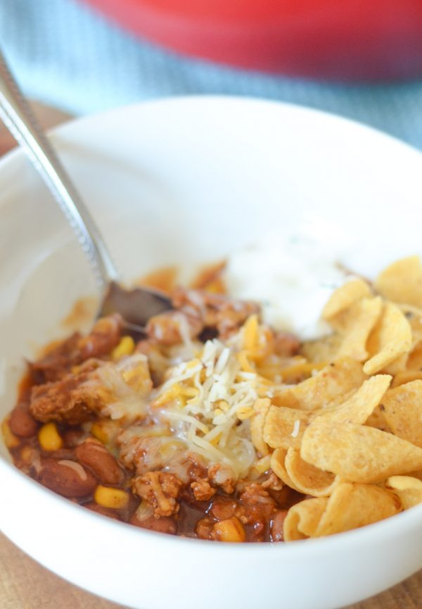 Gluten Free Turkey Chili  Gluten Free Turkey & Corn Chili Mommy Hates Cooking