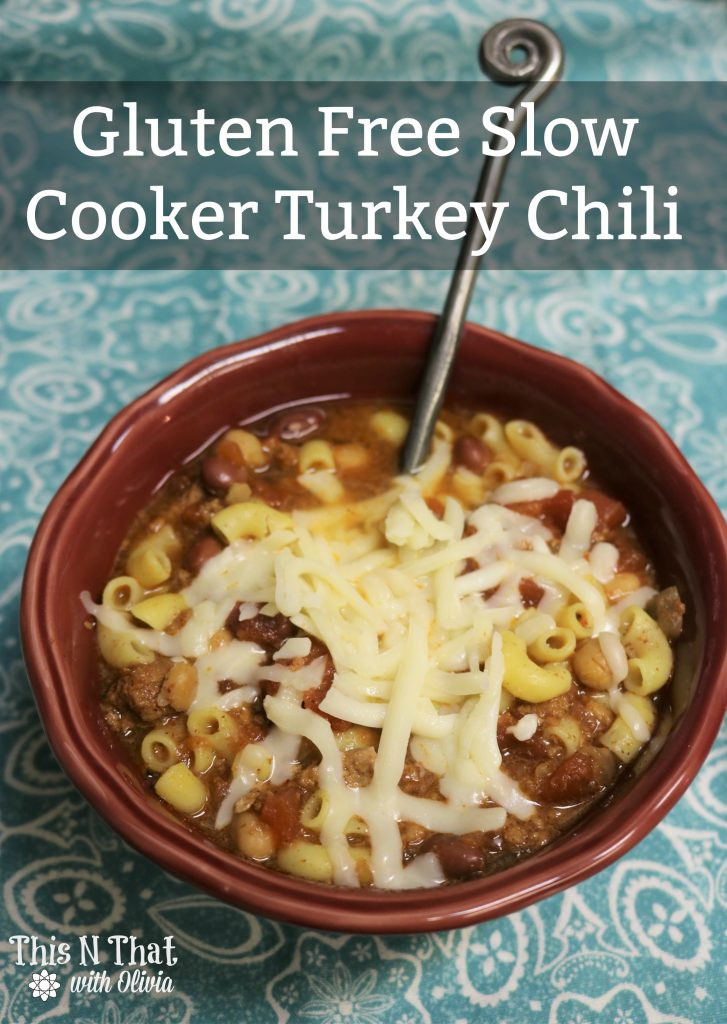Gluten Free Turkey Chili  Gluten Free Slow Cooker Turkey Chili 30 Days of