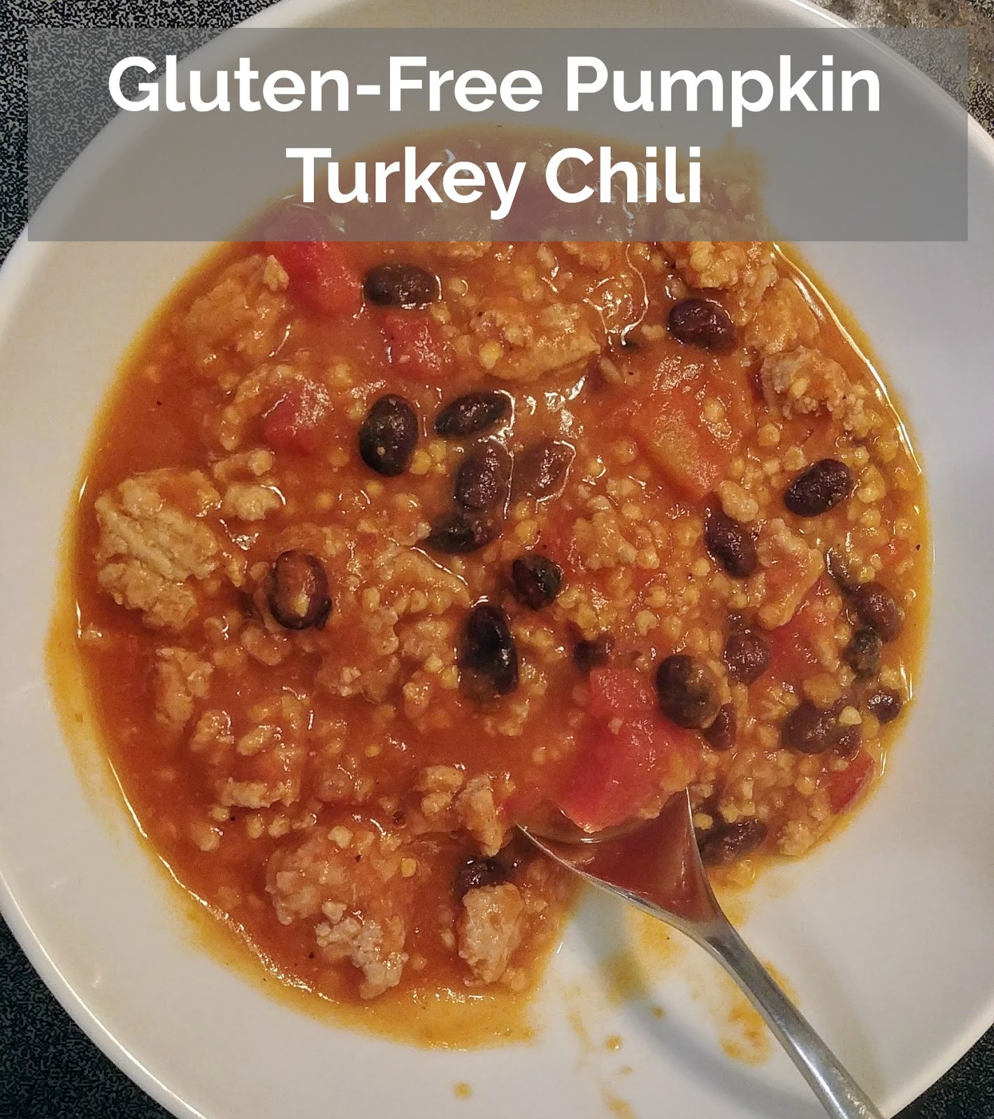 Gluten Free Turkey Chili  Cook Scrap Craft Gluten Free Pumpkin Turkey Chili
