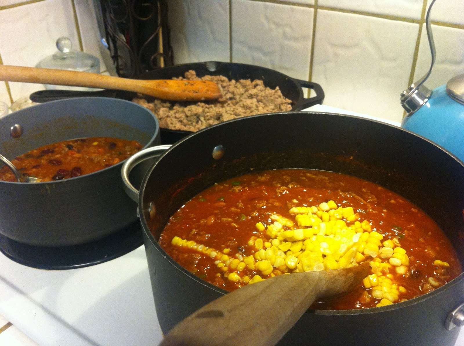 Gluten Free Turkey Chili  Surviving In A Gluten Filled World Homemade Gluten Free