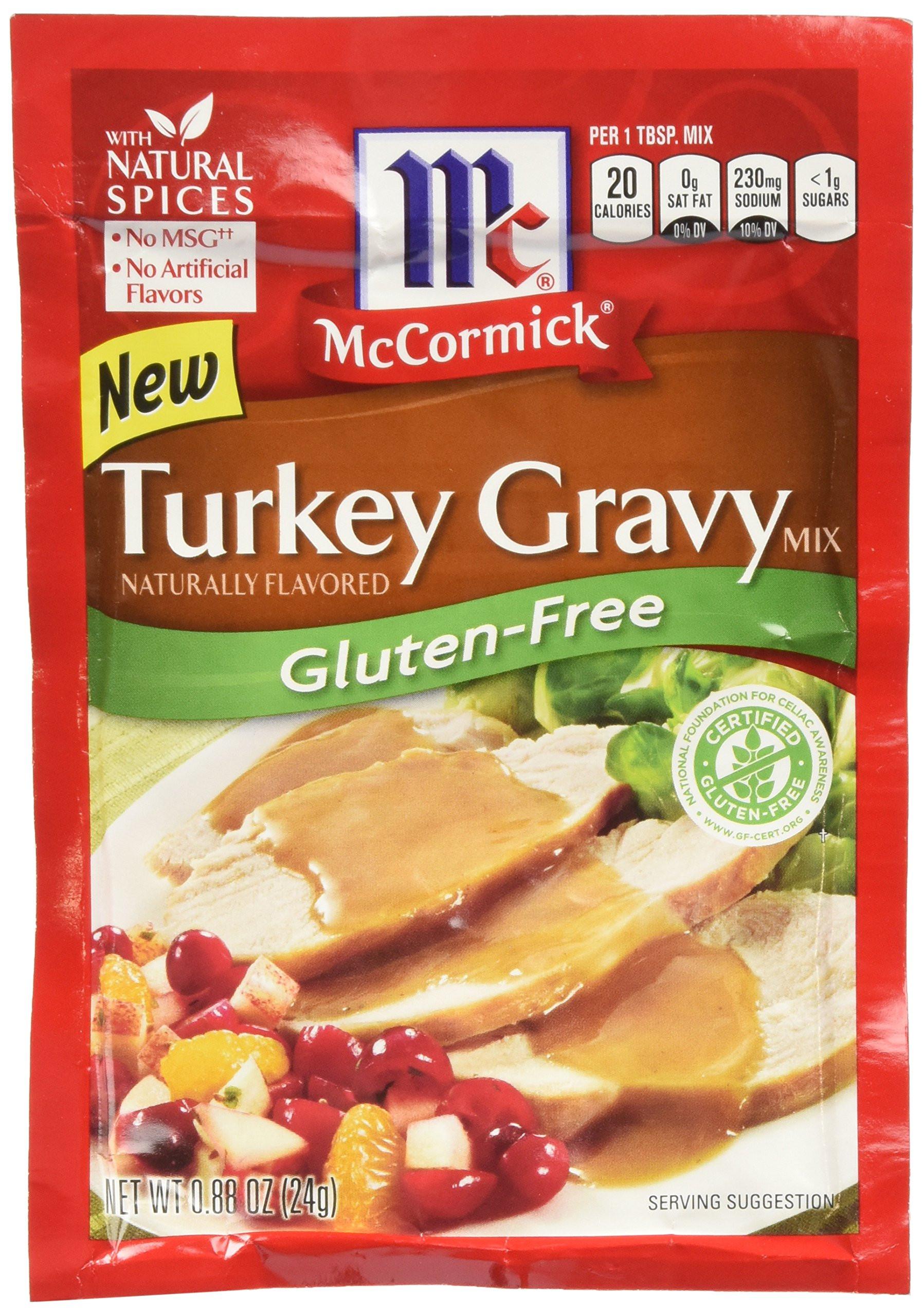 Gluten Free Turkey Gravy  Amazon Pioneer Brand Gluten Free Country Gravy Mix 2