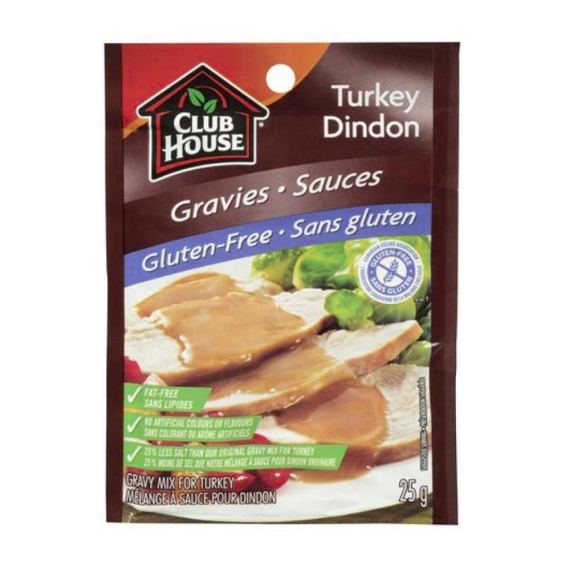 Gluten Free Turkey Gravy  Club House Gluten Free Turkey Gravy