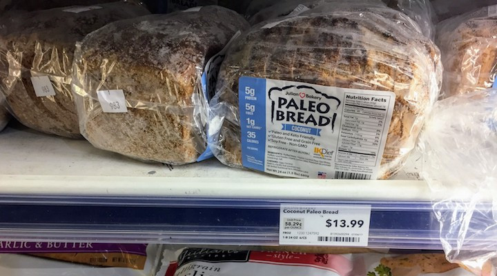Gluten Free Vegan Bread Brands  8 Paleo Sandwich Bread Brands pared Almond Flour