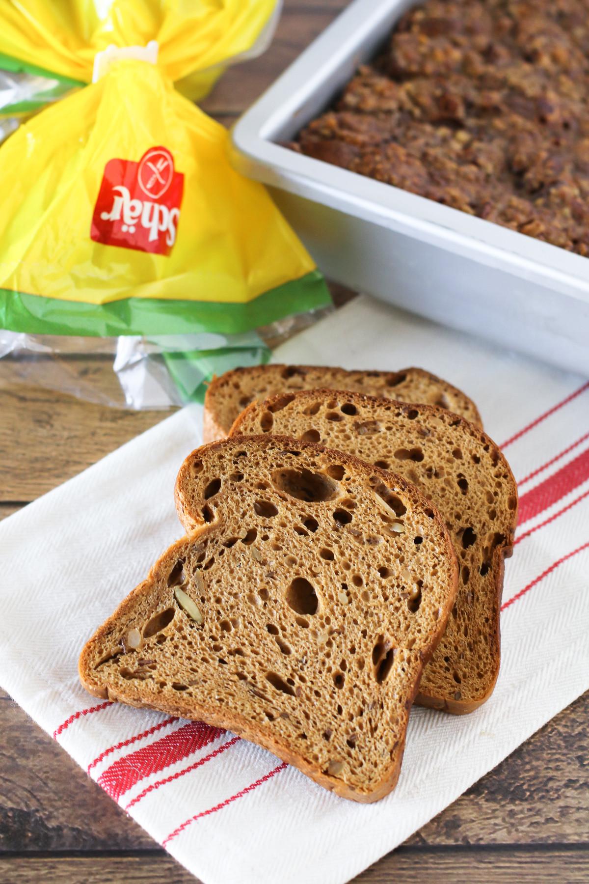 Gluten Free Vegan Bread Brands  gluten free vegan banana pecan baked french toast Sarah