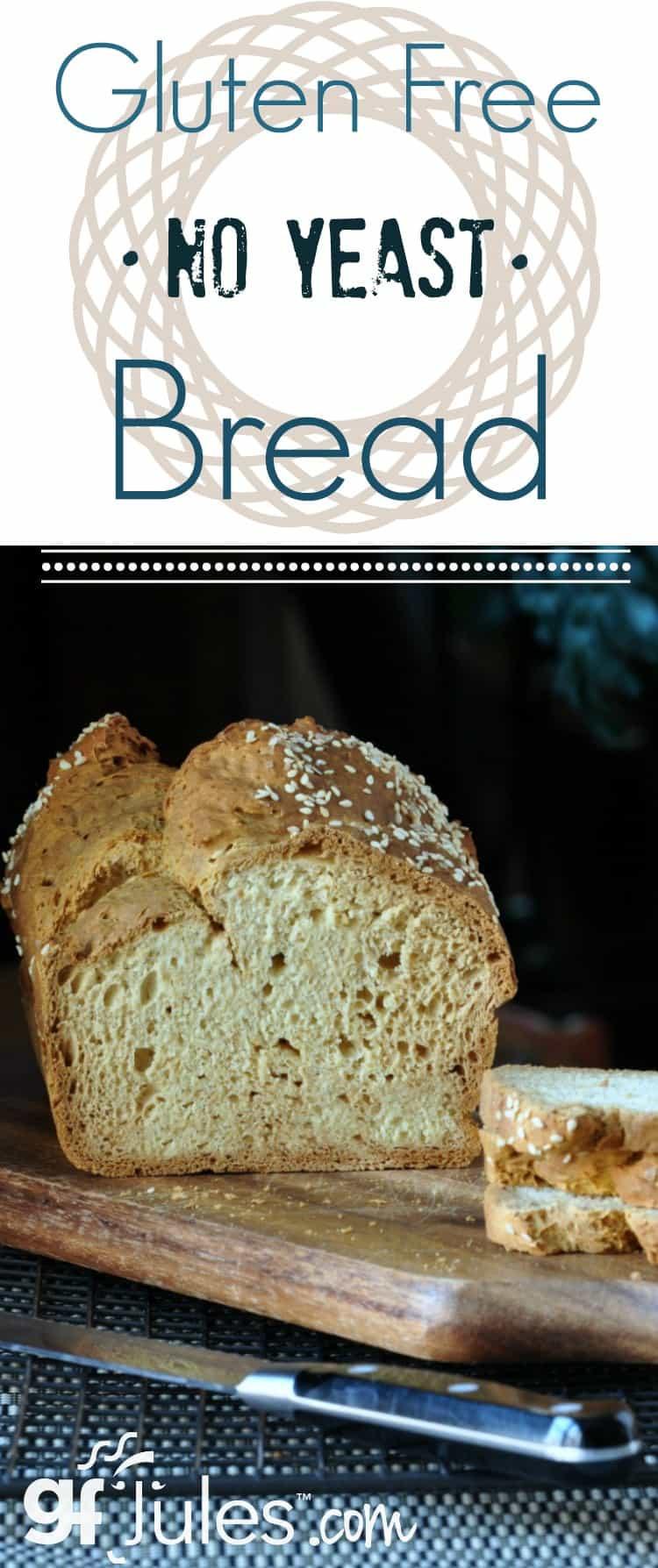 Gluten Free Yeast Bread Recipe  Gluten Free No Yeast Bread Recipe for Sandwiches gfJules