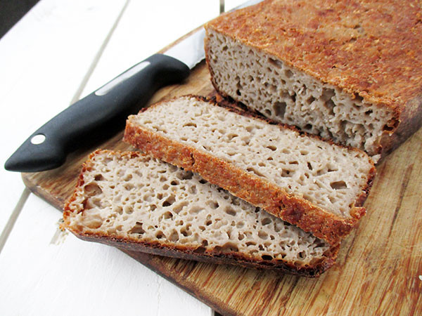 Gluten Free Yeast Bread Recipe  Home made Bread Vegan Gluten free Yeast free